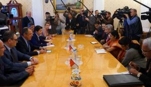 Встреча министра иностранных дел С.В. Лаврова с министром иностранных дел Индии С. Сварадж, переводит Дарья Мандрова, выпуск 2014