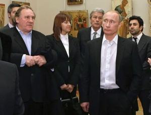 В. Путин, Жерар Депардье. Переводчик - Оксана Клоковская. 2013